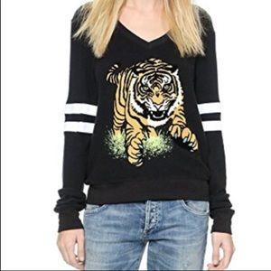 NWOT Wildfox Tiger Spirit sweatshirt sz S